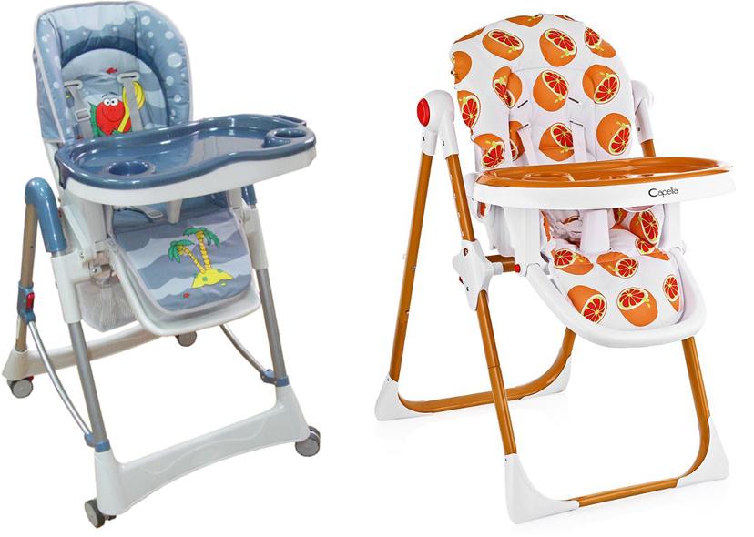 На картинке представлен Стульчик для кормления малыша, который можно приобрести в магазине Антошка