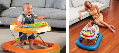 На картинке представлены Ходунки для малыша, которые можно приобрести в магазине Антошка