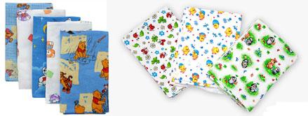 На картинке представлены Детские пеленки, которые можно приобрести в магазине Антошка