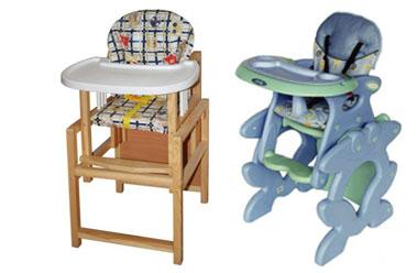 На картинке представлен Стульчик-трансформер для кормления малыша, который можно приобрести в магазине Антошка