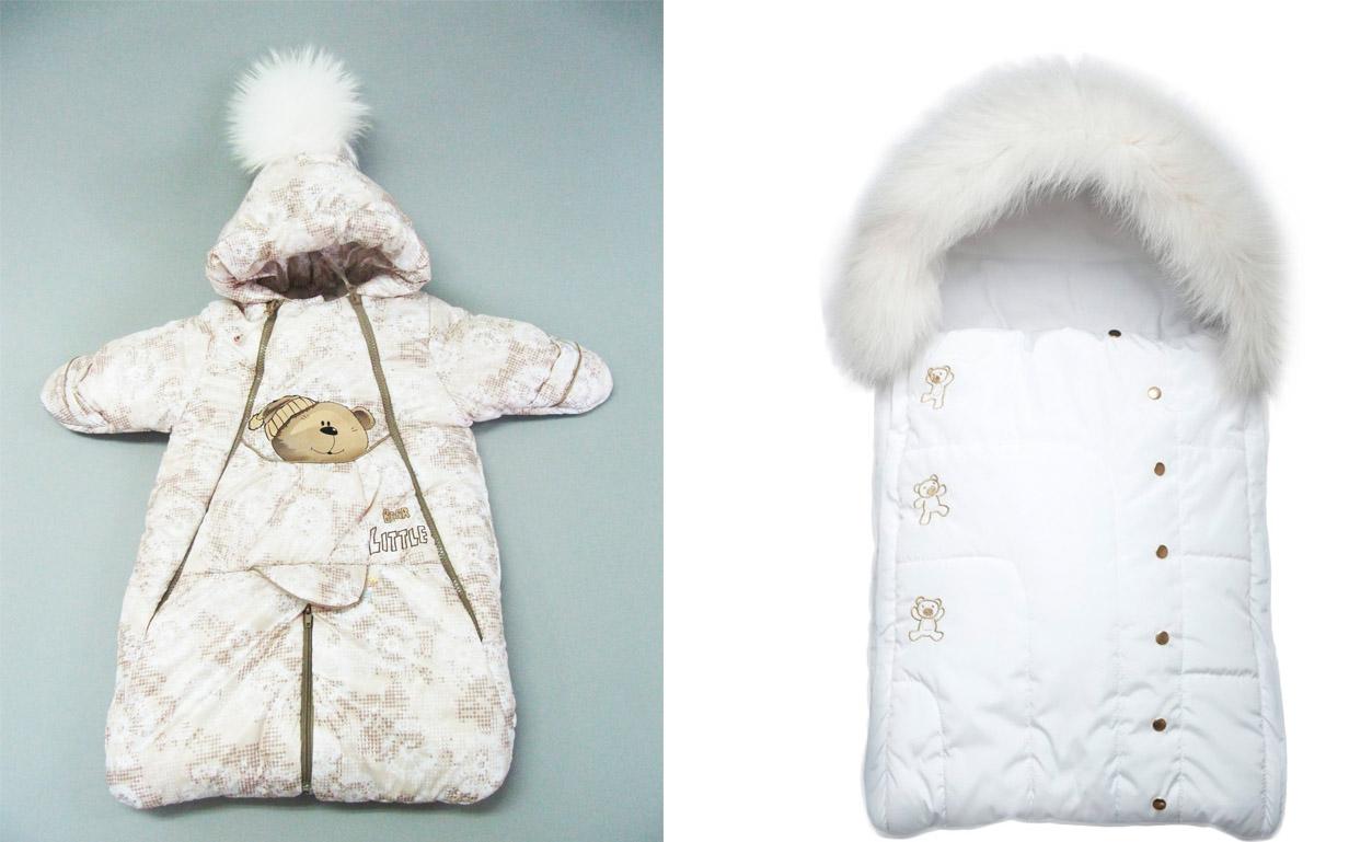 На картинке представлены Зимние конверты для новорожденных фото, которые можно приобрести в магазине Антошка