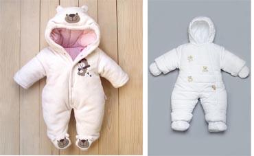 На картинке представлена Зимняя одежда для новорожденных, которую можно приобрести в магазине Антошка