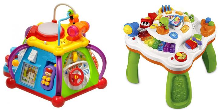 На картинке представлен Музыкальный развивающий центр для ребенка, который можно приобрести в магазине Антошка