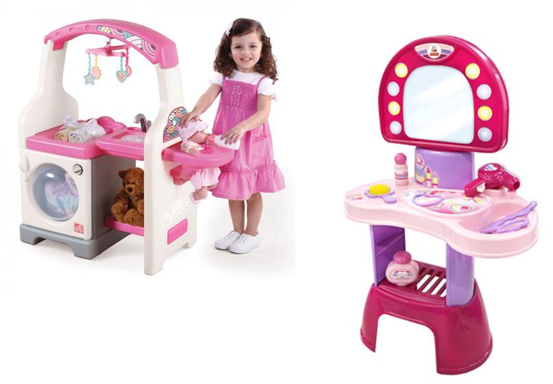 На картинке представлены Игровые наборы для девочек, которые можно приобрести в магазине Антошка