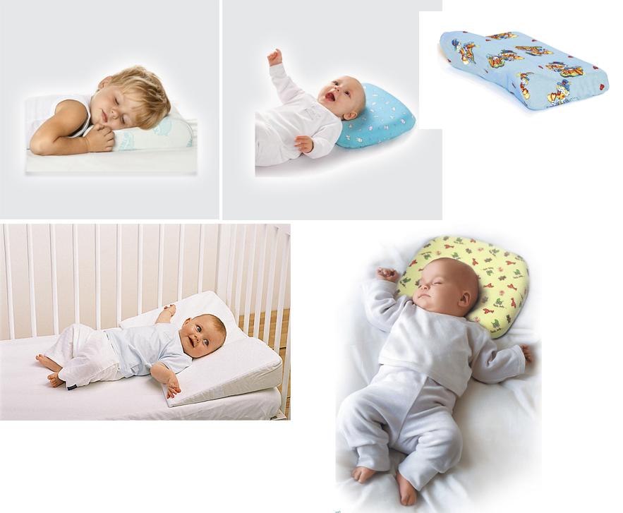 На картинке представлены Ортопедические подушки для детей, которые можно приобрести в магазине Антошка