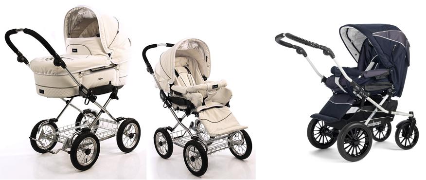 На картинке представлена Детская коляска Emmaljunga (Эммалджунга), которую можно приобрести в магазине Антошка