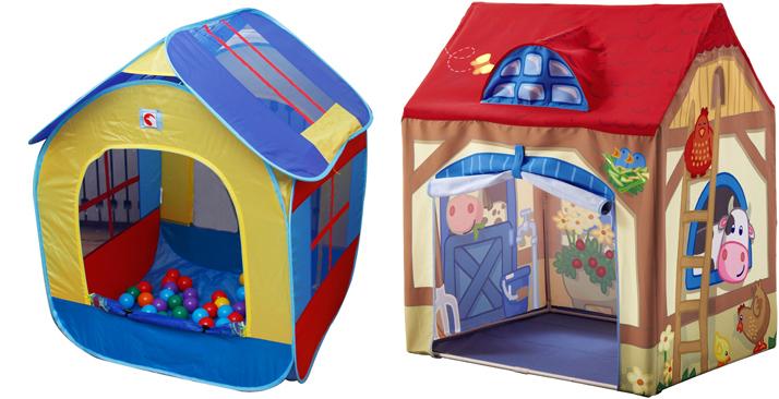 На картинке представлена Детская палатка, которуб можно приобрести в магазине Антошка