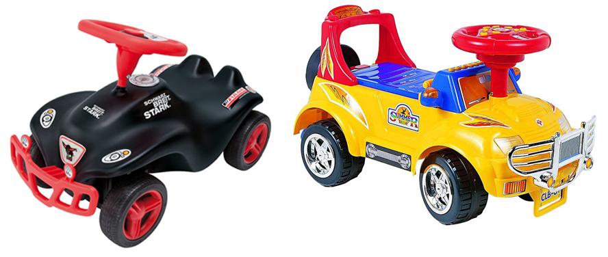 На картинке представлена Каталка машинка - игрушка для ребенка, которую можно приобрести в магазине Антошка