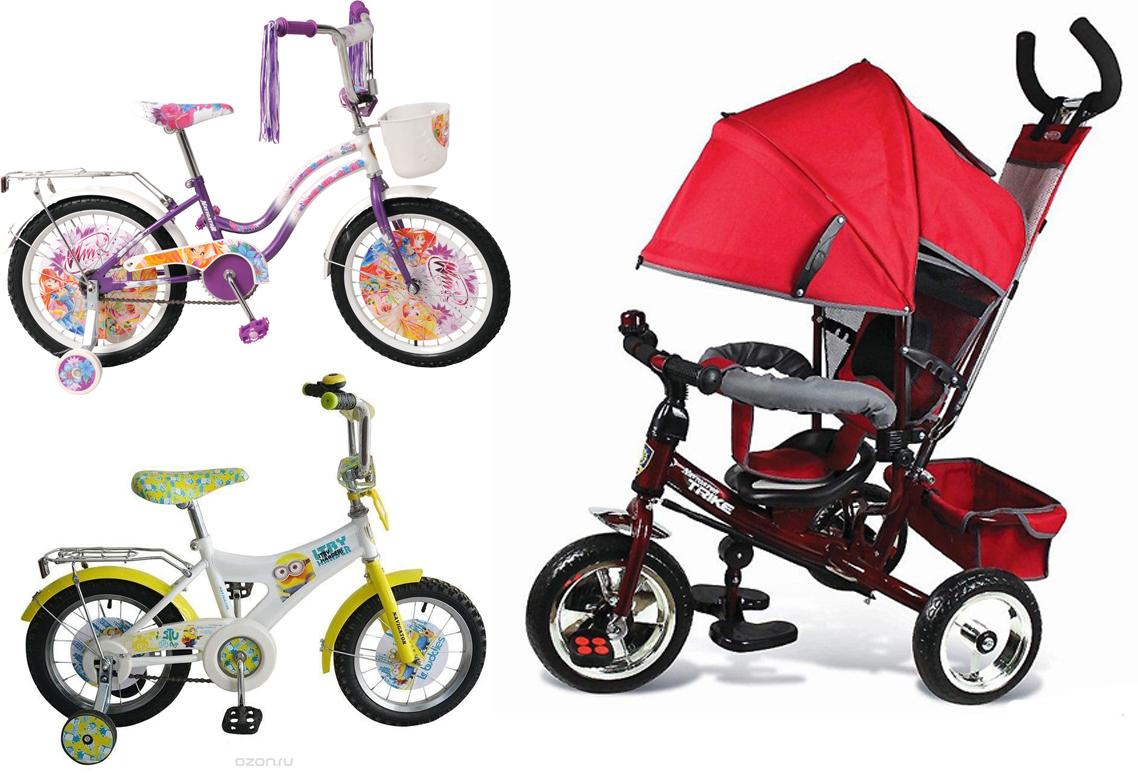 На картинке представлен Велосипед навигатор детский, который можно приобрести в магазине Антошка