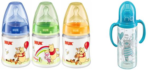 На картинке представлены Бутылочки, которые можно приобрести в магазине Антошка