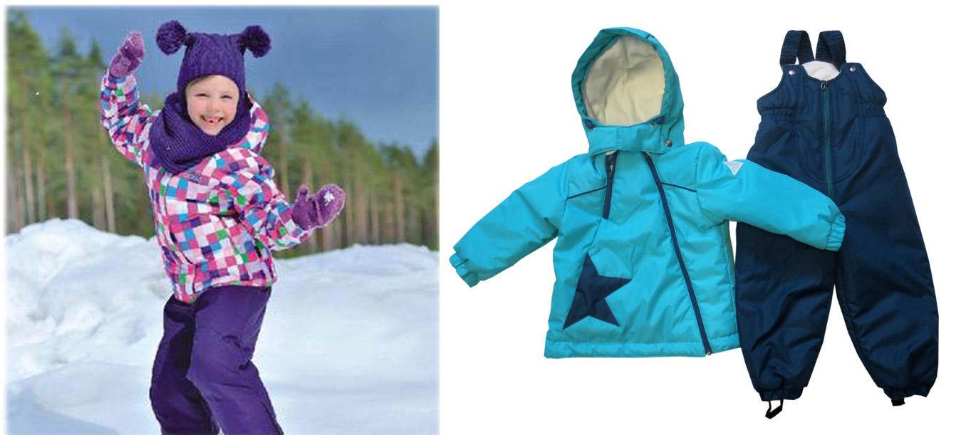 На картинке представлена Верхняя одежда для детей, которую можно приобрести в магазине Антошка