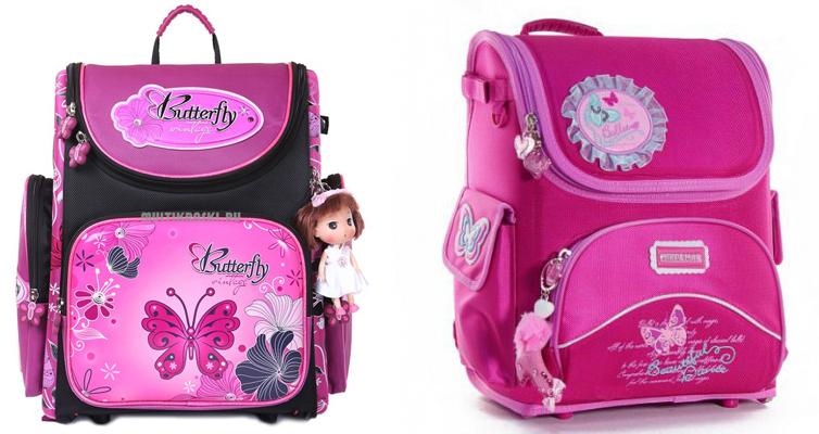 На картинке представлен ранец для первоклассника, который можно приобрести в магазине Антошка
