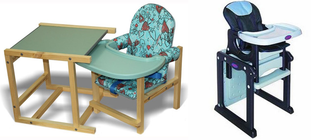 На картинке представлен Столик-стульчик для кормления малыша, который можно приобрести в магазине Антошка