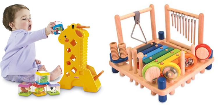 На картинке представлены Развивающие игрушки для детей от 1 года до 3 лет, которые можно приобрести в магазине Антошка