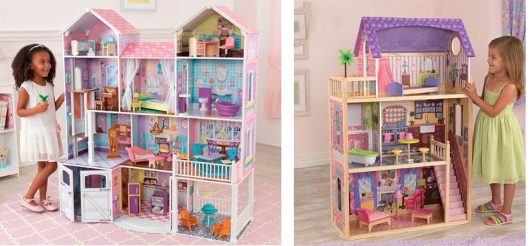 На картинке представлен Кукольный домик, который можно приобрести в магазине Антошка