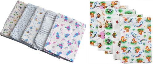 На картинке представлены пеленки, которые можно приобрести в магазине Антошка
