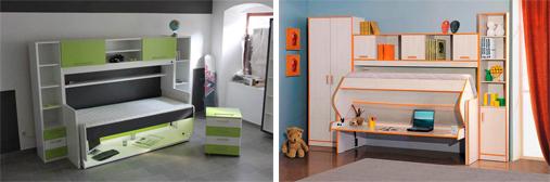На картинке представлена Детская кроватка трансформируется в столик, которую можно приобрести в магазине Антошка