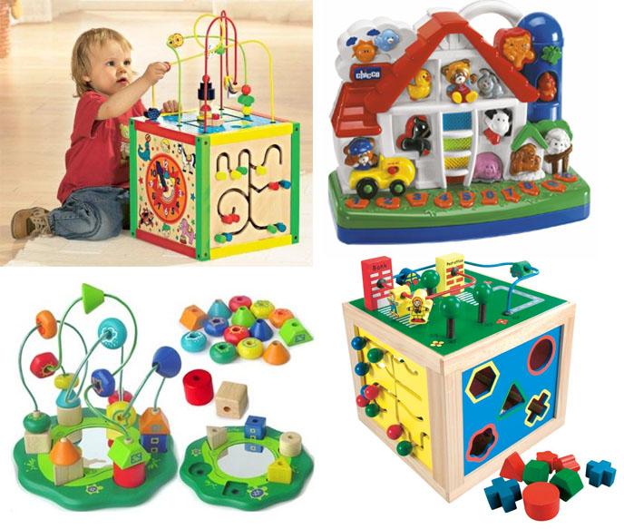 На картинке представлены Развивающие игрушки для детей, которые можно приобрести в магазине Антошка