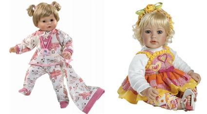 На картинке представлена кукла для ребенка, которую можно приобрести в магазине Антошка