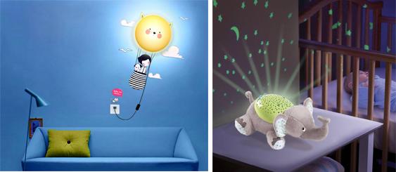 На картинке представлен Ночник для детской комнаты который можно приобрести в магазине Антошка