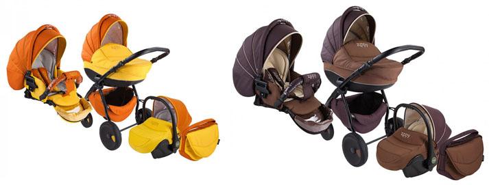 На картинке представлены Zippy (Зиппи) коляски, которые можно приобрести в магазине Антошка