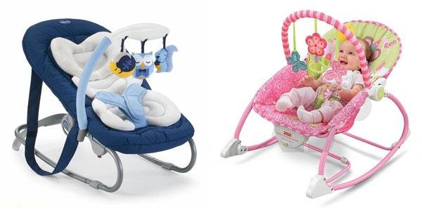 На картинке представлено Детское кресло качалка, которое можно приобрести в магазине Антошка