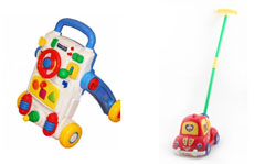 На картинке представлена Детская игрушка каталка, которую можно приобрести в магазине Антошка