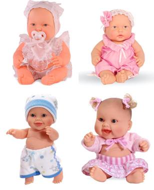 На картинке представлена кукла пупс, которую можно приобрести в магазине Антошка