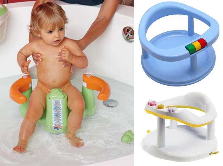 На картинке представлено Сидение для купания малыша, которое можно приобрести в магазине Антошка