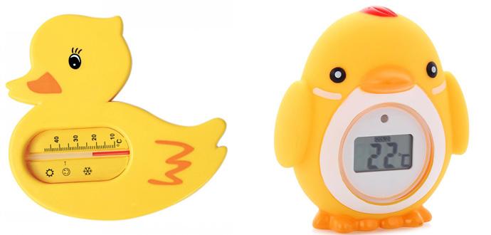 На картинке представлен Термометр для воды детский, который можно приобрести в магазине Антошка