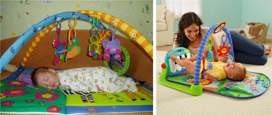 На картинке представлен Развивающий коврик для детей, который можно приобрести в магазине Антошка