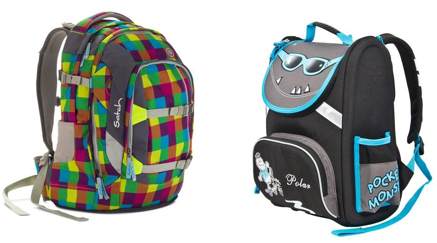На картинке представлены Рюкзаки школьные, которые можно приобрести в магазине Антошка
