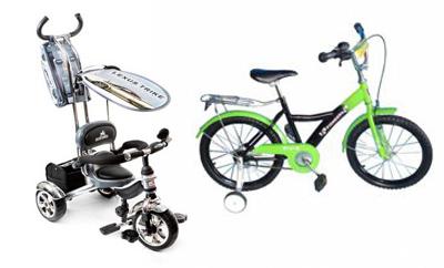 На картинке представлены Детские велосипеды фирмы lexus (Лексус), которые можно приобрести в магазине Антошка