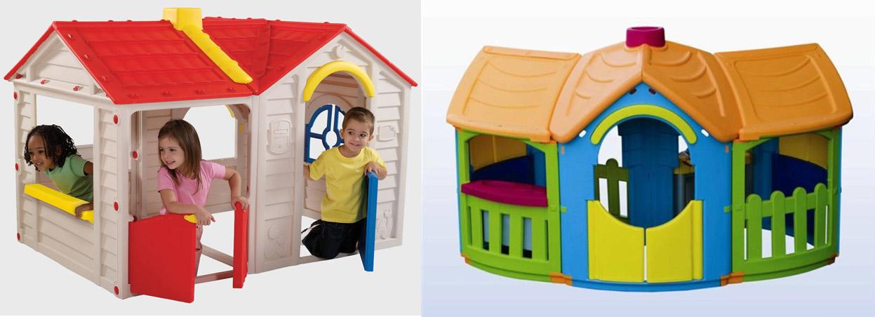 На картинке представлены Детские домики, которые можно приобрести в магазине Антошка