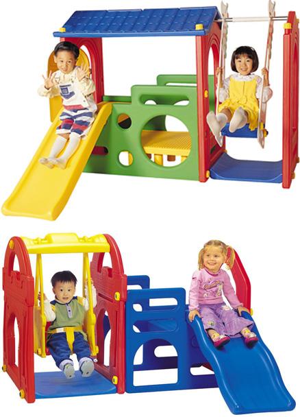 На картинке представлены Игровые комплексы для детей, которые можно приобрести в магазине Антошка