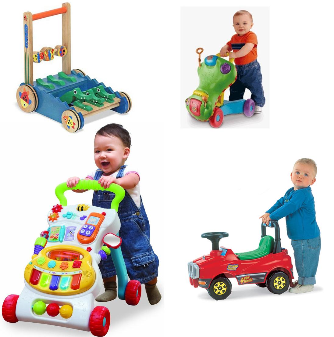 На картинке представлена Каталка для ребенка, которую можно приобрести в магазине Антошка