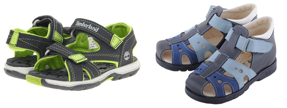 На картинке представленs Детские сандали, которые можно приобрести в магазине Антошка