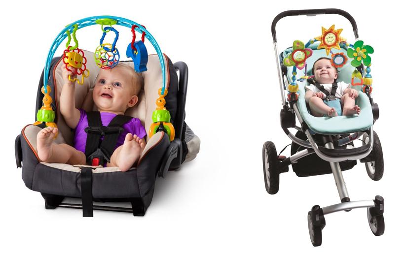 На картинке представлена Дуга на коляску, которую можно приобрести в магазине Антошка