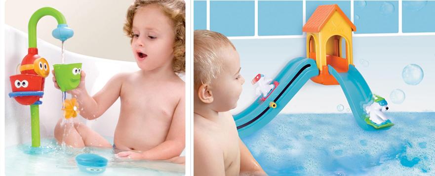 На картинке представлены Игрушки для ванной, которые можно приобрести в магазине Антошка