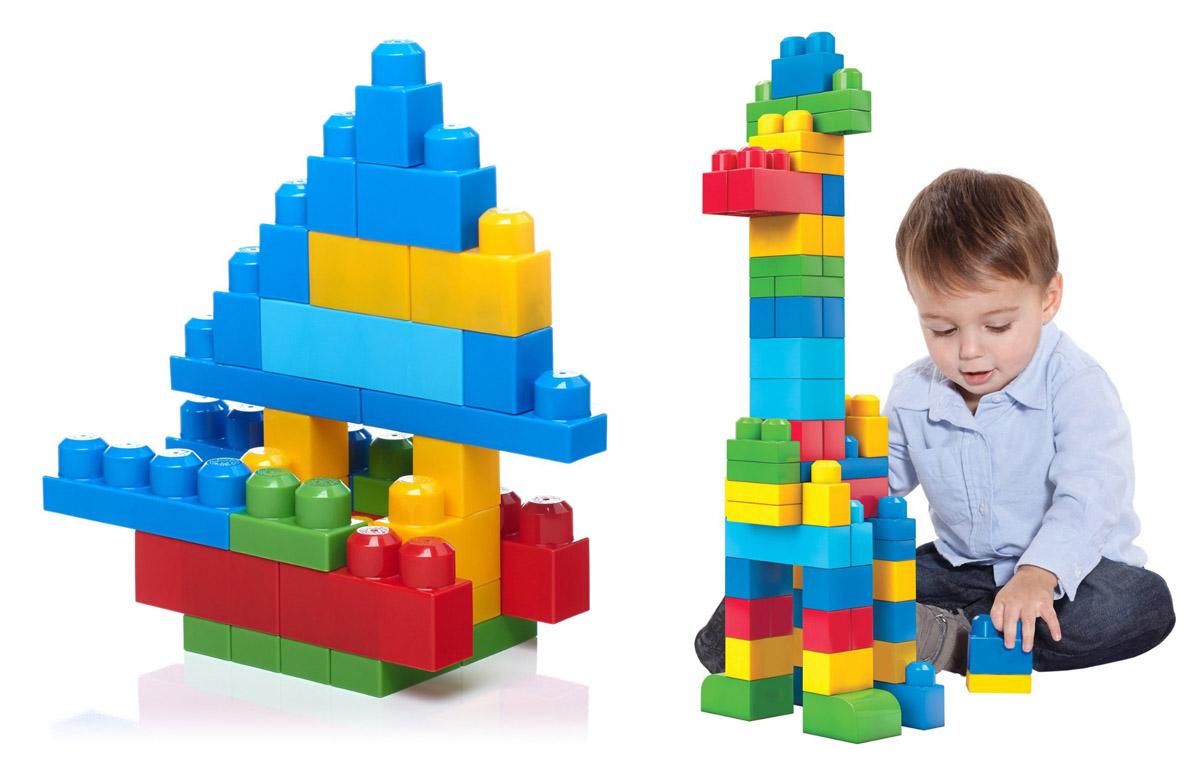 На картинке представлен Конструктор мега блокс, который можно приобрести в магазине Антошка