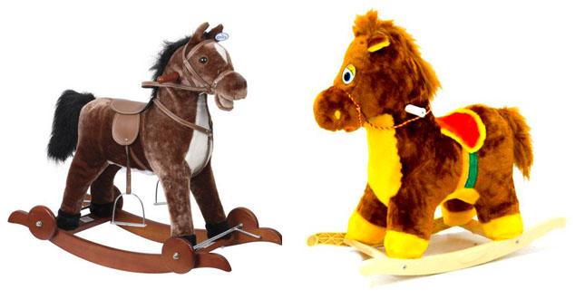 На картинке представлена Качалка лошадка для детей , которую можно приобрести в магазине Антошка