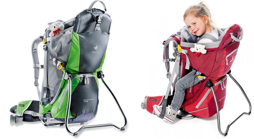 На картинке представлен Рюкзак переноска для детей, который можно приобрести в магазине Антошка