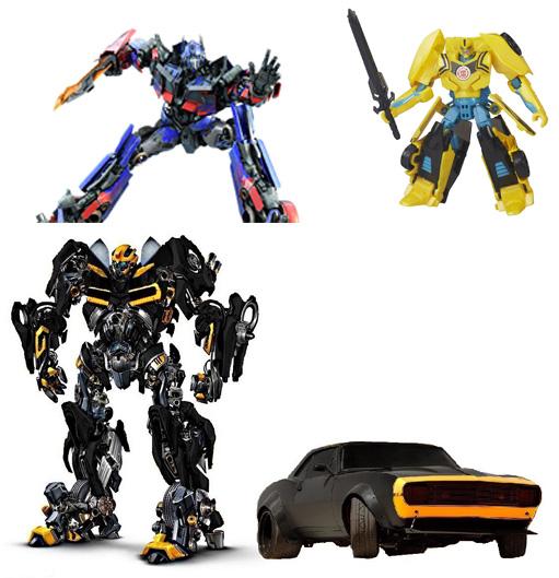 На картинке представлены Роботы трансформеры, которые можно приобрести в магазине Антошка