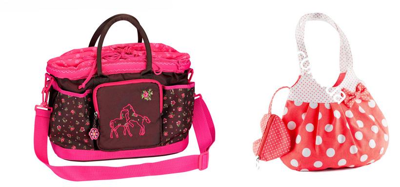 На картинке представлены Сумки для девочек, которые можно приобрести в магазине Антошка