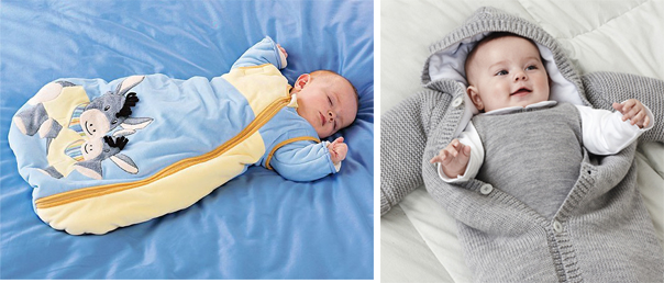 На картинке представлен Спальный мешок для новорожденных, который можно приобрести в магазине Антошка