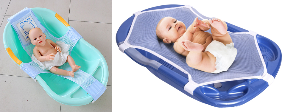 На картинке представлен Гамак для купания новорожденных, который можно приобрести в магазине Антошка