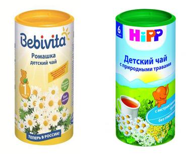 На картинке представлен Детский чай, который можно приобрести в магазине Антошка