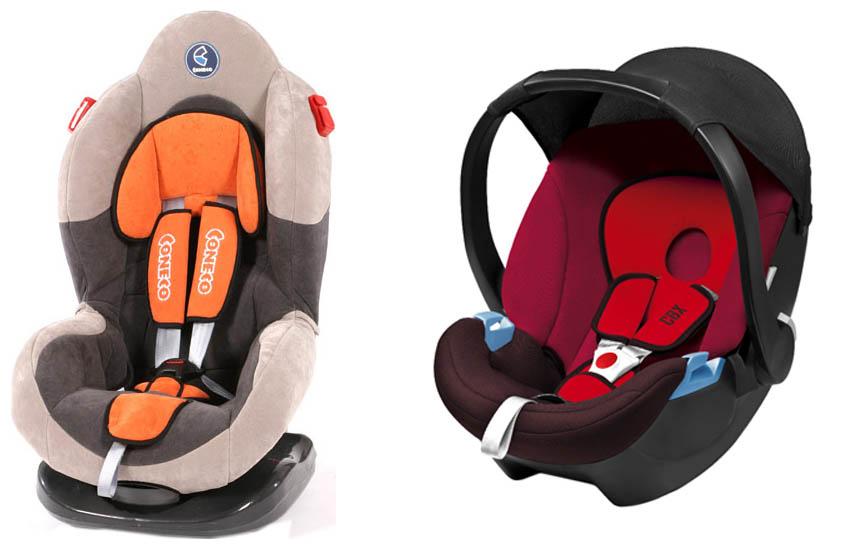На картинке представлено Автомобильное кресло для малыша, которое можно приобрести в магазине Антошка