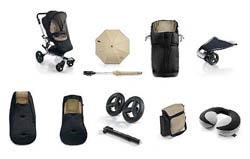 На картинке представлены Все необходимые аксессуары для колясок, которые можно приобрести в магазине Антошка