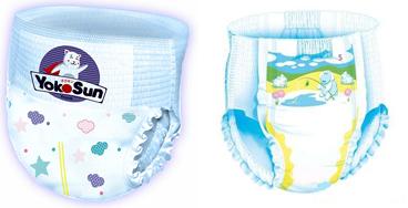 На картинке представлены детские подгузники трусики, которые можно приобрести в магазине Антошка